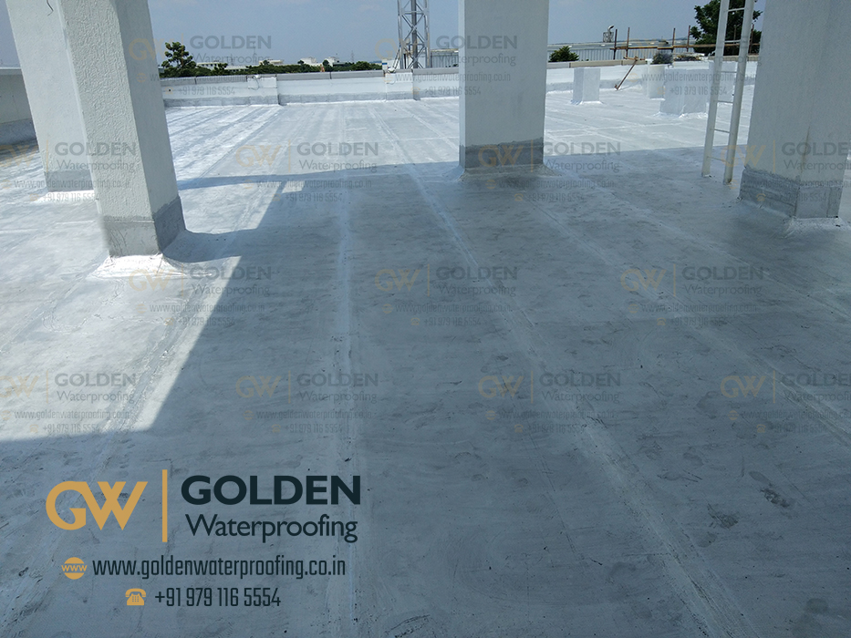 Chemical Waterproofing Contract Services In Chennai - Bathroom Chemical Waterproofing, Alwarpet, Chennai.